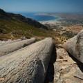 Greece, Euboea (Evia), Karystos columns