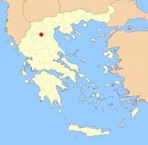 kozani map