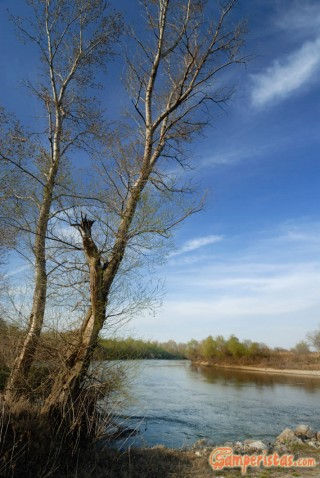 Greece, Thrace, river Evros (Maritsa or Meric)