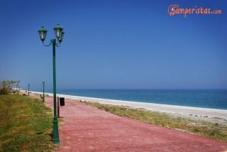 spiaggia dopo agiokampo