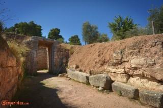 Micene, tomba dei Leoni