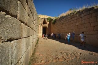 Micene, Il tesoro di Atreo o tomba di Agamennone