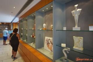 Micene, negozio di souvenir del museo