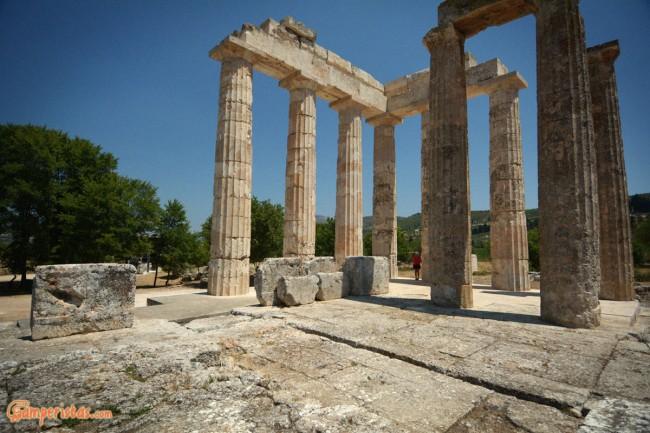 Nemea, Nemean Zeus temple