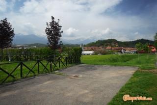 Mongrando, area camper