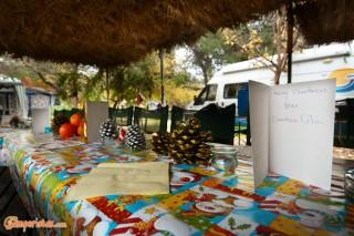 Iria Beach Camping