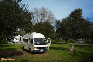 Gythion Bay camping