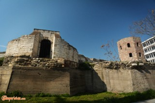 Thessaloniki, city walls