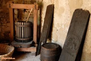 Hungary, Tokaj town, Tokaj Museum, old tools
