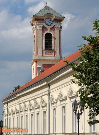 Hungary, Tokaj town, the Greek Orthodox church, now Tokaj gallery