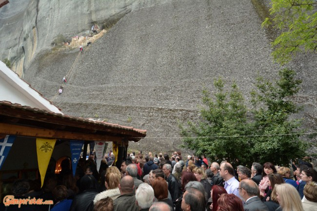 Greece, Meteora, Kastraki, Mandilas