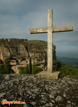 Greece, Meteora, Ypapantis Monastery