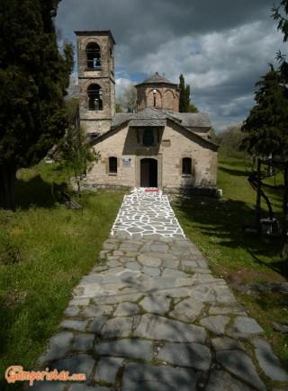 Greece, Spileo, Panagia Monastery