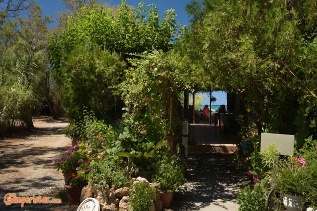 Crete, Rethymno, Camping Elisabeth