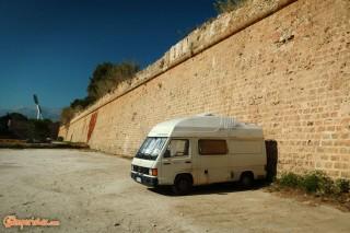 Crete, Chania parking