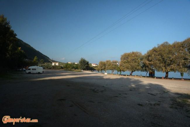 Punto sosta vicino a Patrasso