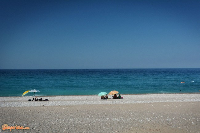 Greece, Euboea (Evia), Chiliadou beach