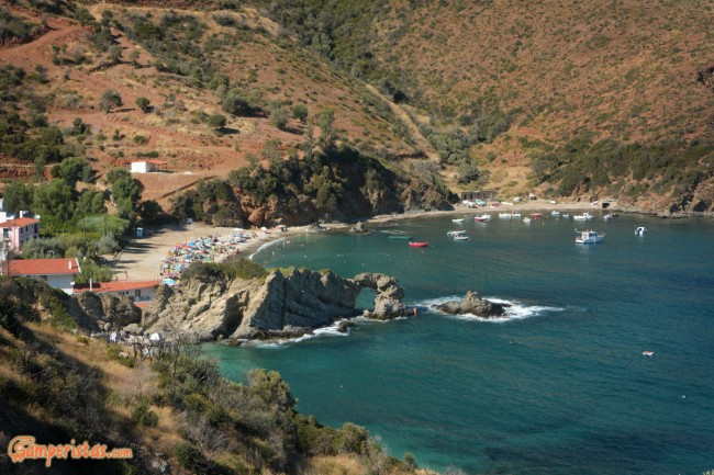 Greece, Euboea (Evia), Kalamos beach