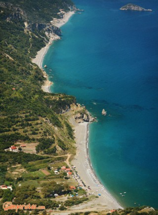 Greece, Euboea (Evia), Metochi beach