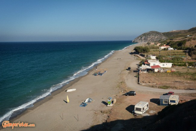 Greece, Euboea (Evia), Mourteri beach