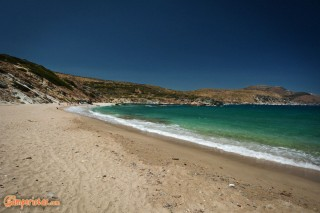 Greece, Euboea (Evia), Stomio beach