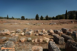Greece, Euboea (Evia), Eretria Archeological site