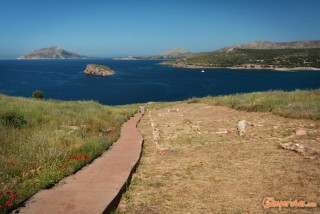 Greece, Cape Sounion, Poseidon temple