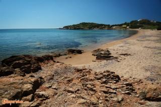 Greece, Cape Sounion, Camping Bacchus