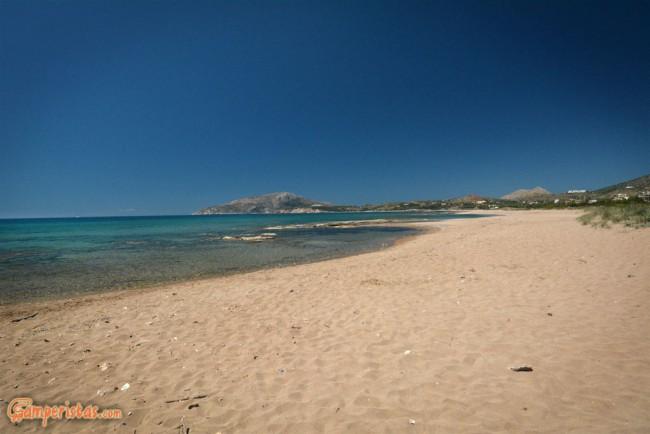 Greece, Agia Marina beach