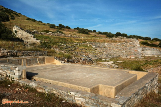 Greece, Thoricus Theater