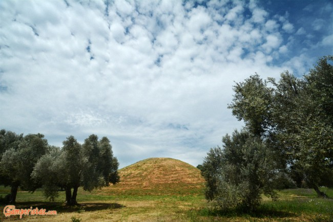Greece, Marathon, Tumulus of Marathon