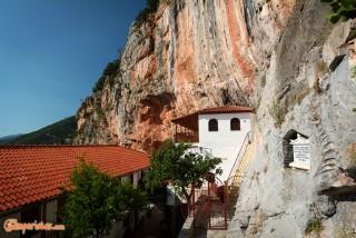 Greece, Peloponnese, Elona Monastery