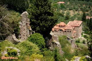 Greece, Peloponnese, Mystras
