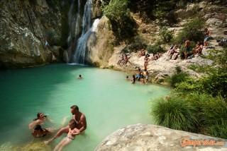 Greece, Peloponnese, Polylimnio