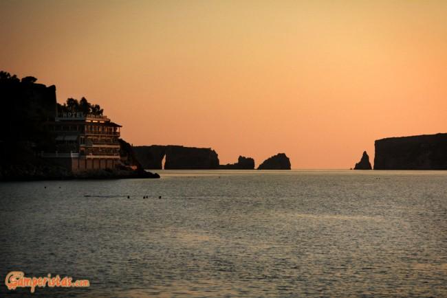 Greece, Peloponnese, Pylos Castle