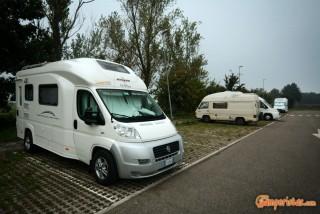 Italy, Parma, Salone del Camper