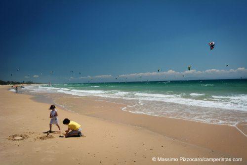 Quando splende il sole però la spiaggia è un sogno.