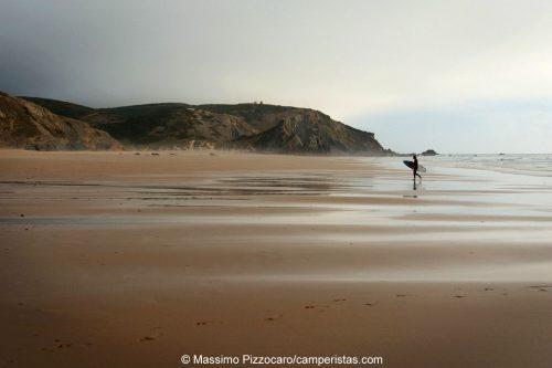 Portugal, Algarve, Carrapateira, Praia do Amado