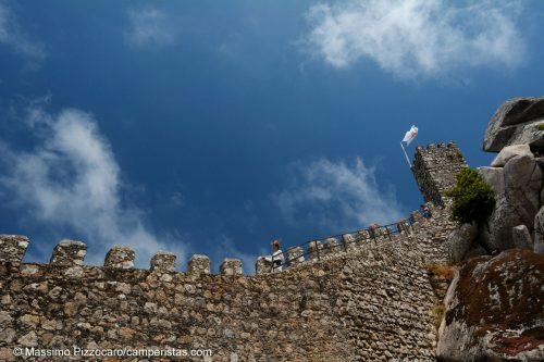 Il castello dei Mori, una delle attrazioni di Sintra, impressionante, ma 8€ di entrata mi sono sembrati un po' eccessivi.