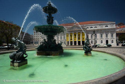 Lisbona, piazzo Rossio