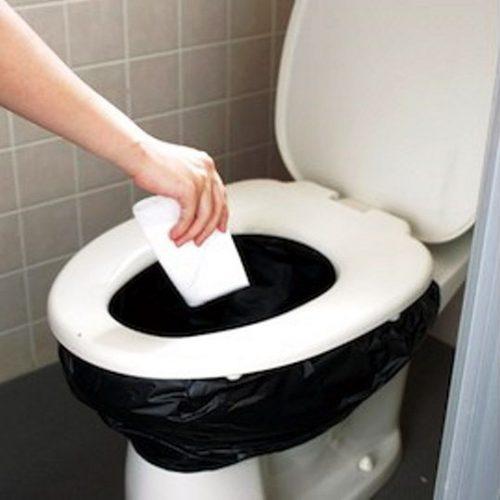 Da una foto del genere mi è venuta l'ispirazione. Autonomia WC: infinita!