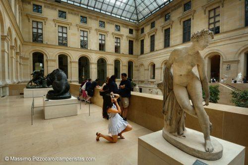 Parigi, Passi di danza al Louvre ;)