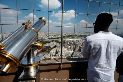 ...la vista dalla torre...