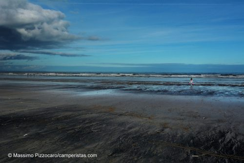 La spiaggia di St. Andrews diventata famosa con il film Chariots of Fire.
