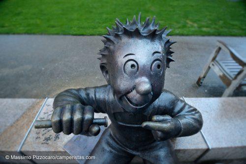 Uno dei personaggi famosi dei fumetti nati a Dundee
