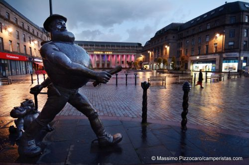 Un altro dei personaggi famosi dei fumetti nati a Dundee