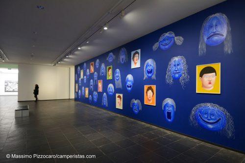Lo SMAK, il museo di arte contemporanea, è meno impressionante, ma merita comunque un giro... qui sopra pittura murale di Nicolas Party