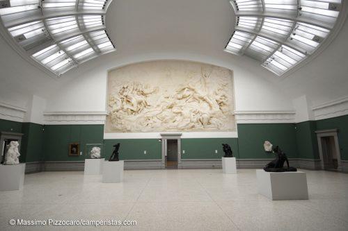 L'MSK, il museo di belle arti. Merita sicuramente una visita senza fretta...